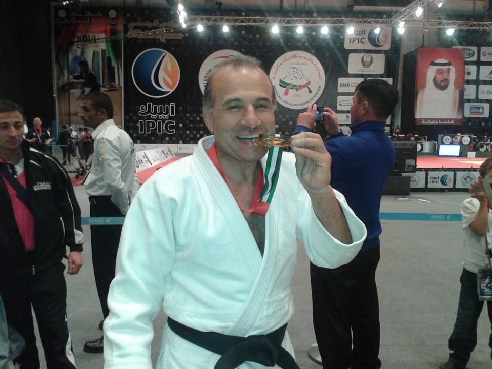 Elio Paparello Campione Mondiale Master ad Abu Dabi