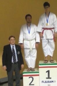 Jacopo Ripepi (Samurai Latina) 1° classificato nel 10° Trofeo Macaluso (Firenze, 26-1-2014)