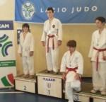 Alessio Pacini al secondo posto del podio - Samurai Latina (Roma 9-2-2014)