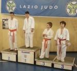 Valerio Pacini al terzo posto del podio – Samurai Latina (Roma 9-2-2014)