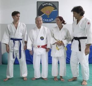 Samurai Latina: sul tatami da tre generazioni